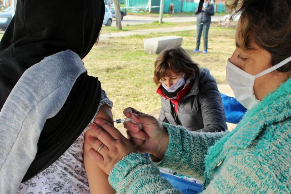 Luján: Plan Detectar, más de 160 casas relevadas en los barrios Elli y 12 de Abril