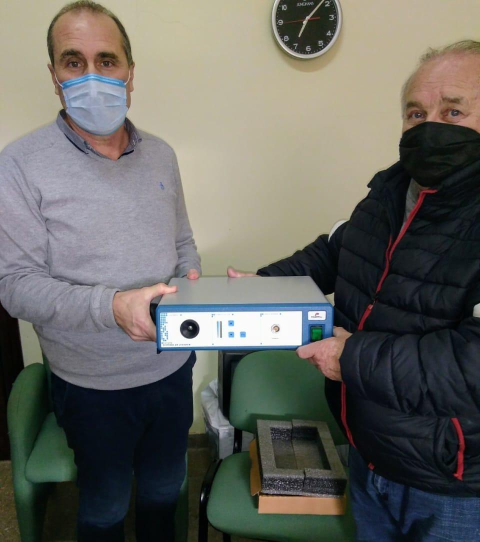 Más equipamiento para el Hospital de Magdalena
