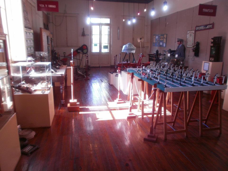 Campana: El Museo Ferroviario