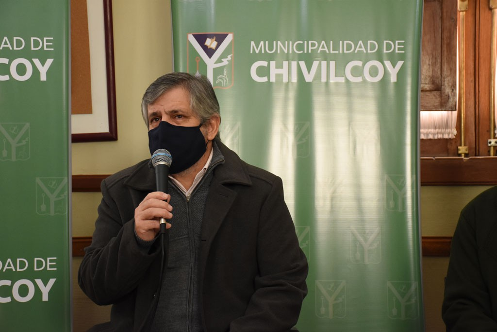 """Guillermo Britos: """"Una muerte no se puede utilizar para hacer política partidaria. Es momento de colaborar con los vecinos de Chivilcoy"""""""