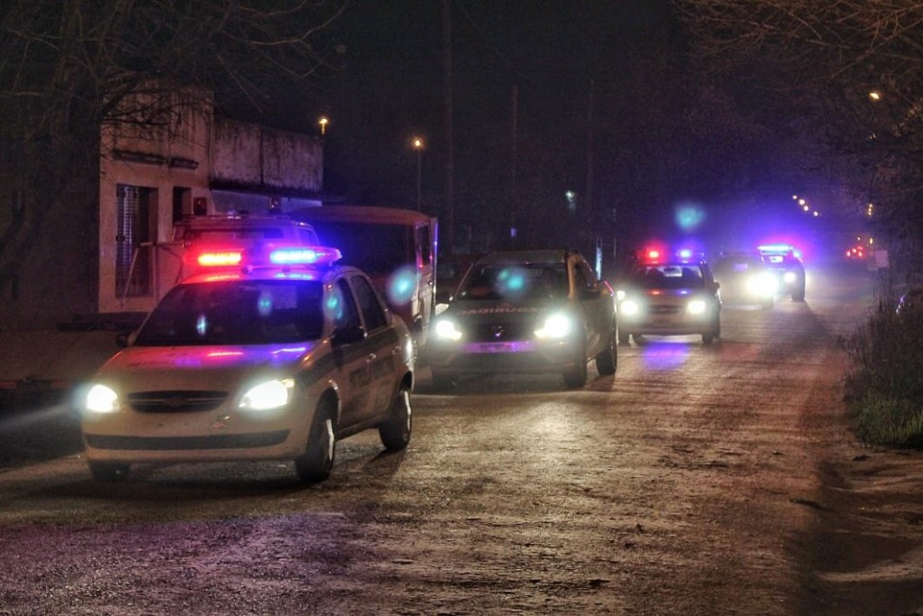 Luján: Controles aleatorios vespertinos en barrios