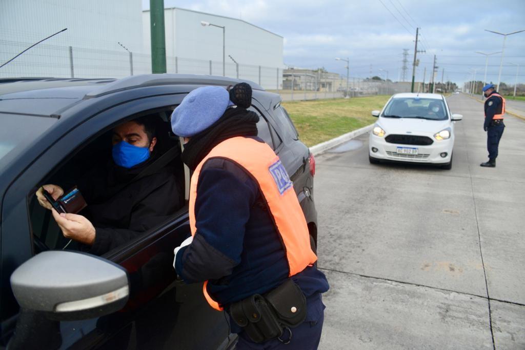 E. Echeverría: 11 nuevos detenidos en controles de circulación