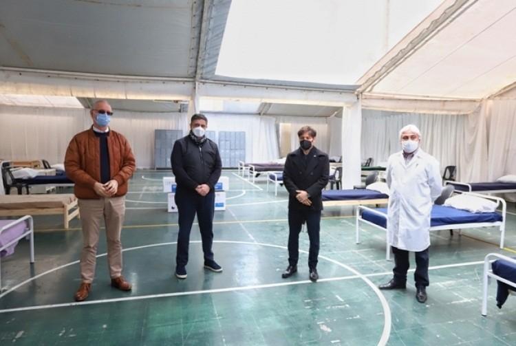 Vicente López: Sin grieta, Kicillof entregó respiradores al intendente Jorge Macri, para los hospitales locales