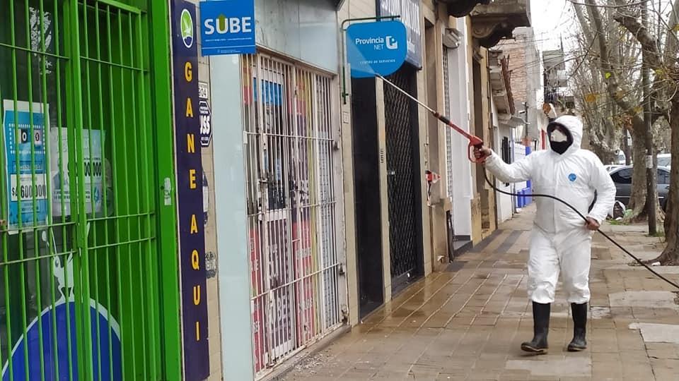 Ituzaingó: Continúan realizándose operativos de desinfección y sanitización