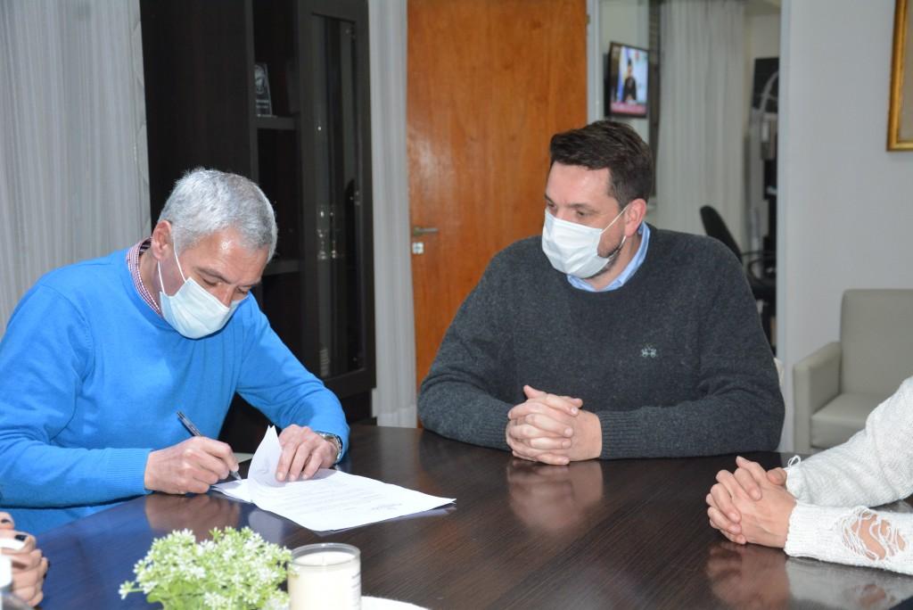 Berisso: Cagliardi puso en funciones al nuevo Secretario de Salud