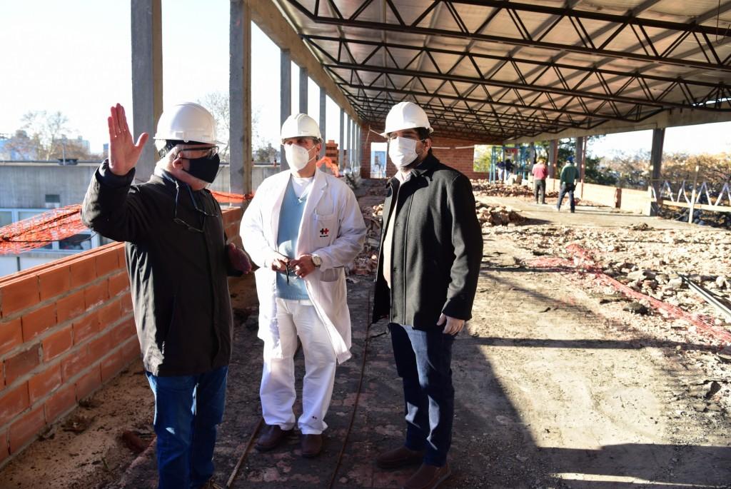 San Martín: El Municipio retomó las obras de la 3° etapa del Hospital Thompson