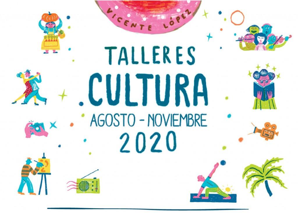 Vicente López: Inscripción abierta para los talleres culturales del segundo semestre