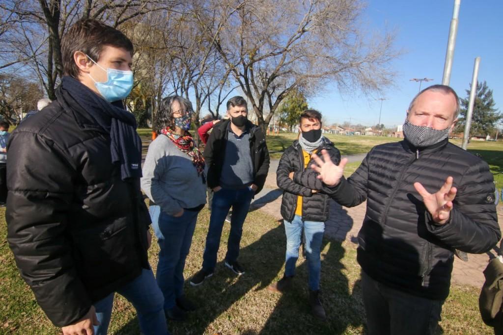 San Vicente: El intendente Mantegazza acompañó a Martín Sabbatella en el Programa DetectAR