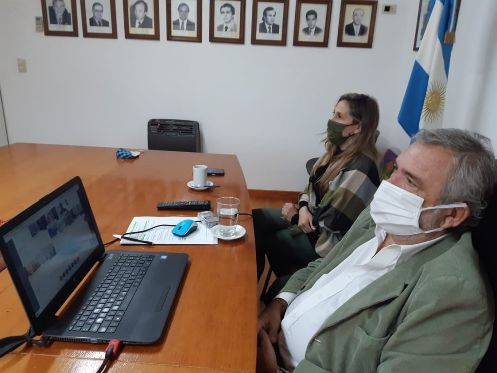 """Colón: El intendente Casi participó de la presentación del Programa """"Comunidades sin violencias"""""""