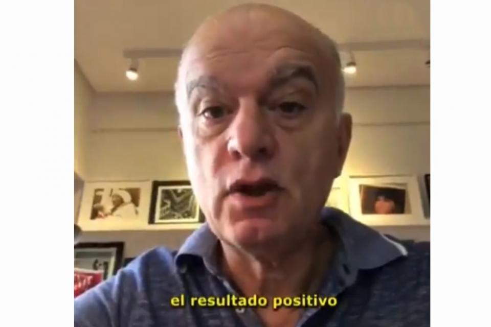 Lanús: El intendente Grindetti dio positivo de COVID-19
