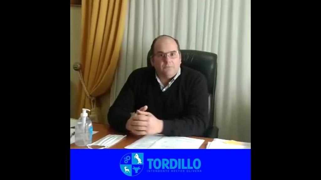 """Tordillo: Olivera anunció que """"pasamos a Fase 4 desde hoy, hasta el 10 de agosto"""""""