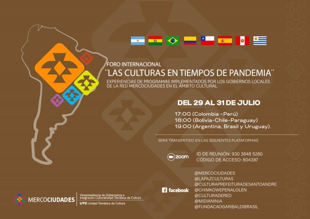 Quilmes presente en foro internacional de culturas de Mercociudades