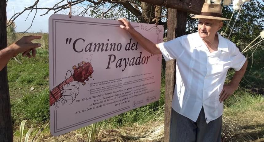 Despedida a Aldo Crubellier, El Payador de Lezama