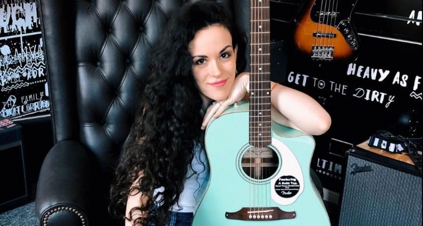 Pte. Perón: Virginia Ferreyra en show musical en vivo