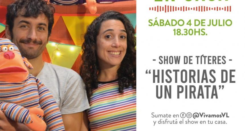 """Vicente López: Nueva edición de """"shows en casa"""""""
