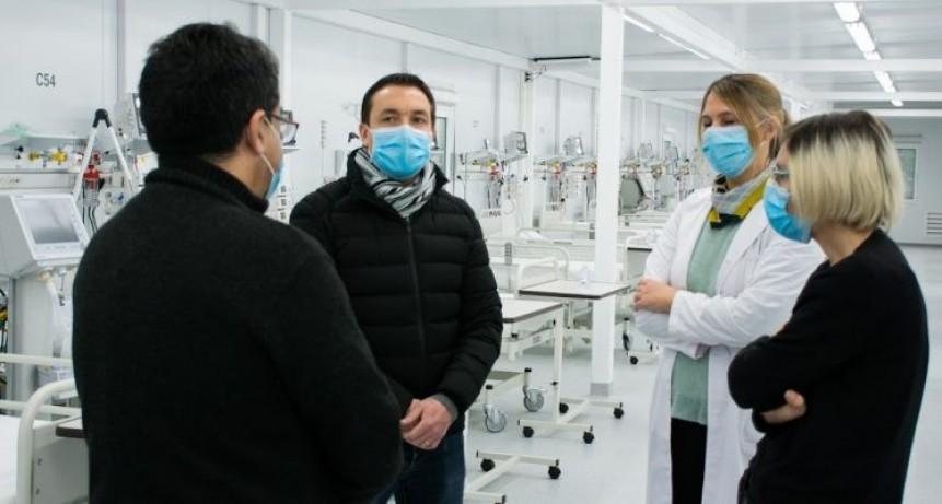 Florencio Varela: Comenzó a funcionar el hospital modular para atender pacientes con Covid-19