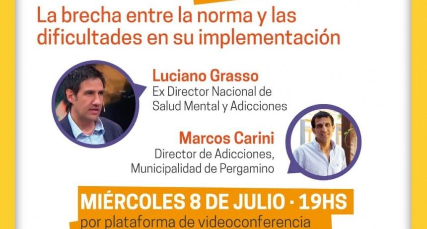 Pergamino: Segunda charla sobre Salud Mental y Adicciones