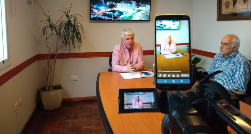 M. Hermoso: Dichiara extendió la prohibición de ingreso al distrito hasta el 20 de julio y flexibilizó el horario comercial