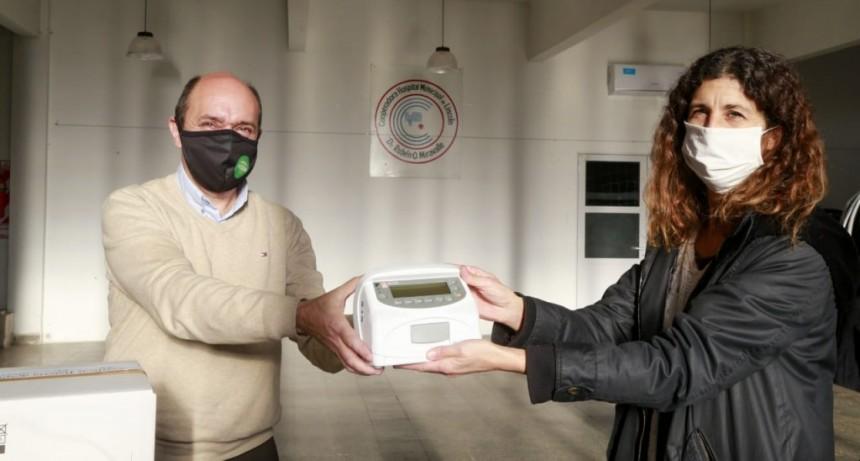 Lincoln: La Cooperadora donó 3 bombas de infusión para el hospital municipal