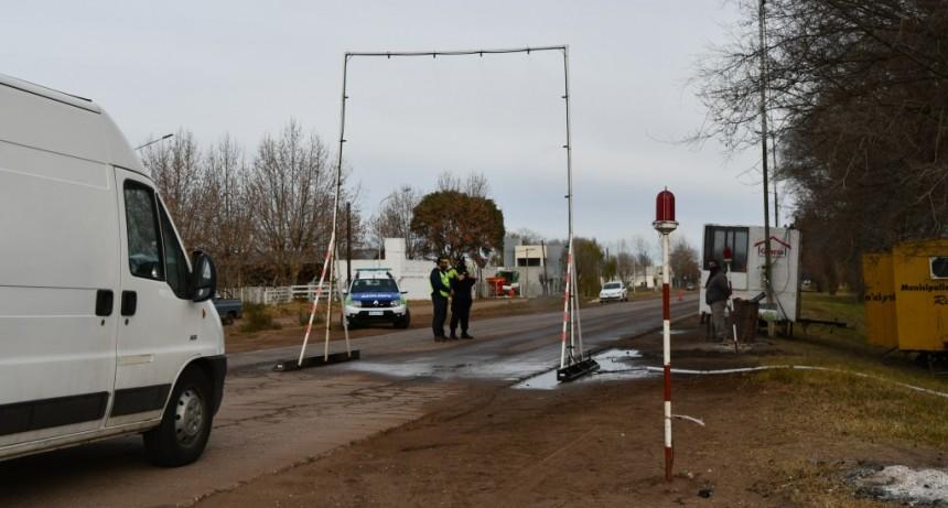 Salliqueló: Continúan los controles en los accesos habilitados en el distrito