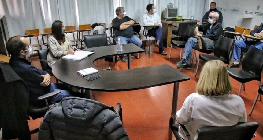 Bolívar: El intendente Pisano se reunió con el comité sanitario