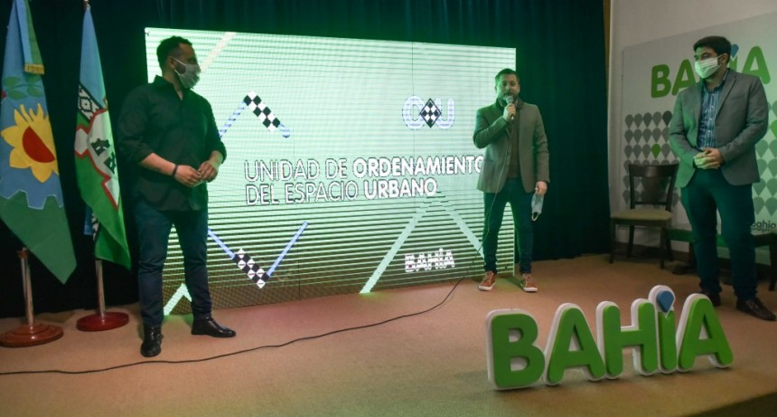 Bahía Blanca: Presentación de la Unidad de Ordenamiento del Espacio Urbano