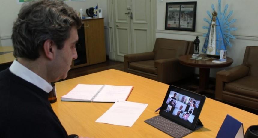 Luján: Leo Boto encabezó un encuentro virtual con cooperativistas y referentes de la Economía Social
