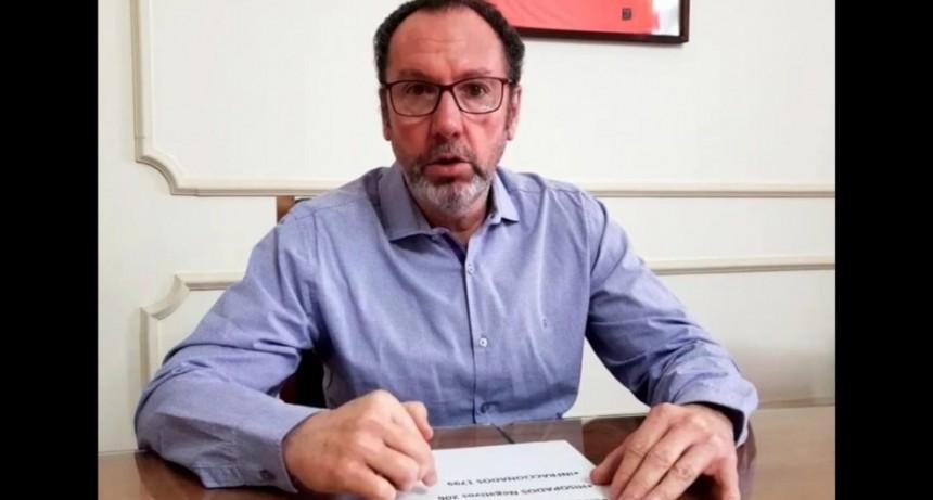 """Walter Torchio: """"Desde hoy, no sonará más la sirena en Carlos Casares, salvo que retrocedamos de fase"""""""