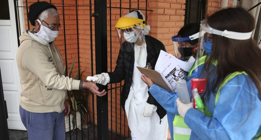 Vicente López: Operativo de vacunación antigripal y prevención en Barrio La Loma