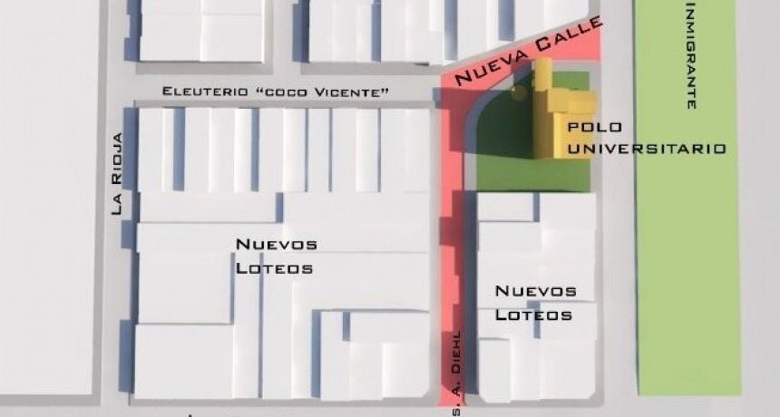 Rivadavia comienza con la obra del Polo Universitario