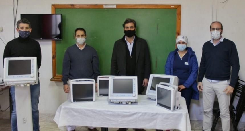 Luján: Boto recibió tres nuevos respiradores para el sistema sanitario local