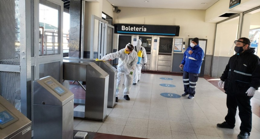 La CNRT realizó una fiscalización en la estación de Berazategui