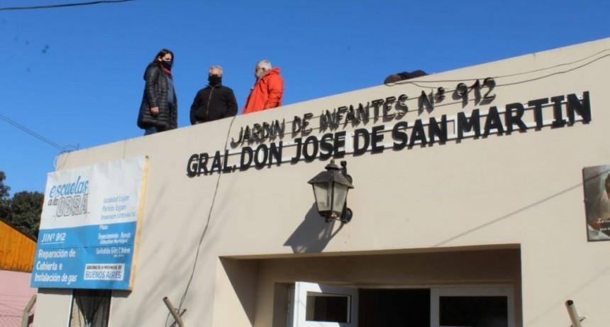 Luján: Nuevas obras de infraestructura escolar en la localidad de Cortínez