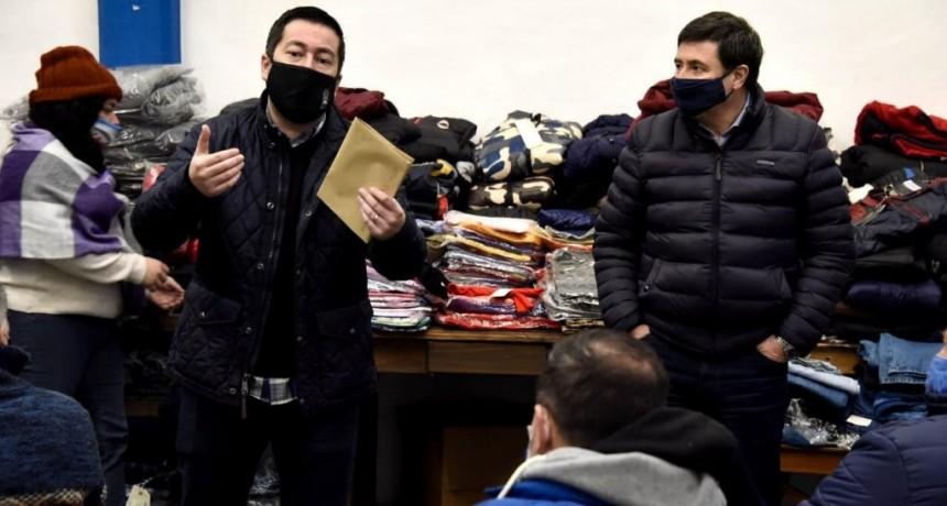 Malvinas Argentinas: El ministro Arroyo junto a Nardini fortalecen la asistencia social