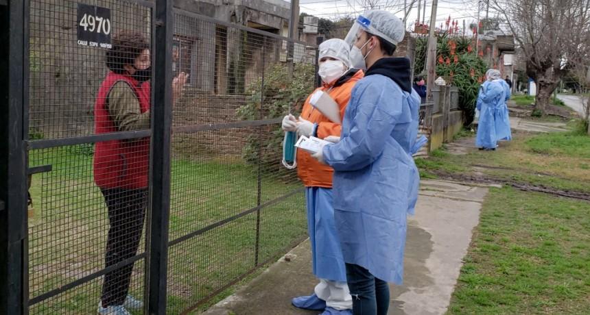 """Berazategui: El operativo """"DeTECTAr"""" fue en barrio Bustillo"""
