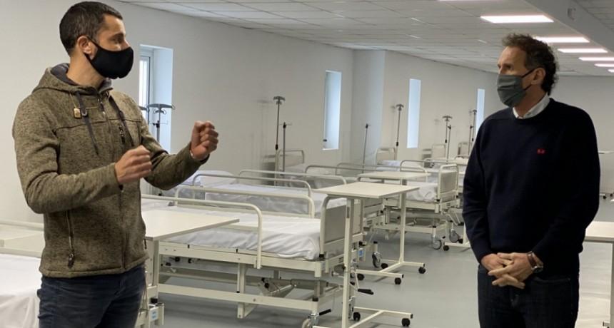 """Mauro García: """"Nosotros tuvimos la oportunidad de construir un Hospital Municipal en Gral. Rodríguez en solo 18 días"""""""