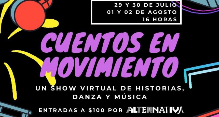 Luján: Cuentos en Movimiento, un show virtual de historias increíbles, danza y ritmos electrónicos para toda la familia