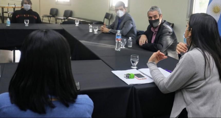 El Gobierno Nacional implementará en Avellaneda un programa de voluntariado