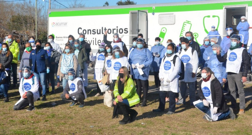 """Berisso: Se realizó el operativo """"Detectar"""" en el barrio El Carmen"""