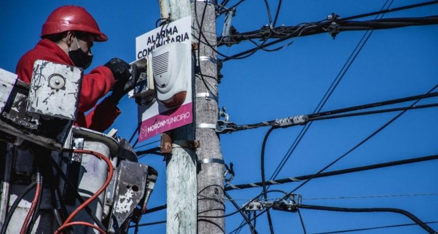 Morón: Refuerzan los controles y relevan cámaras y dispositivos de seguridad