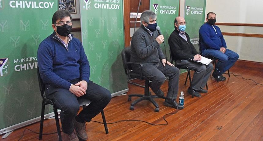 Chivilcoy: Guillermo Britos anunció que