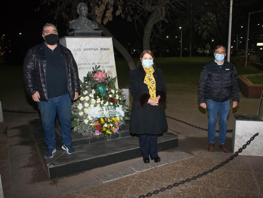 Pte. Perón: Emotivo homenaje de Blanca Cantero a Juan Domingo Perón