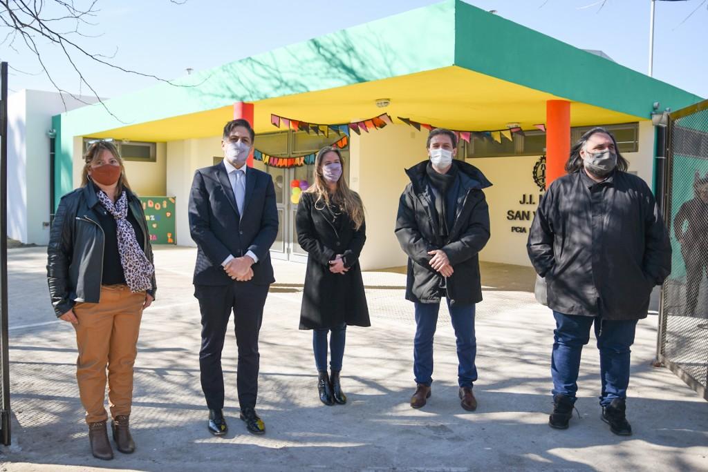 San Vicente: Histórica Inauguración del Jardín 916