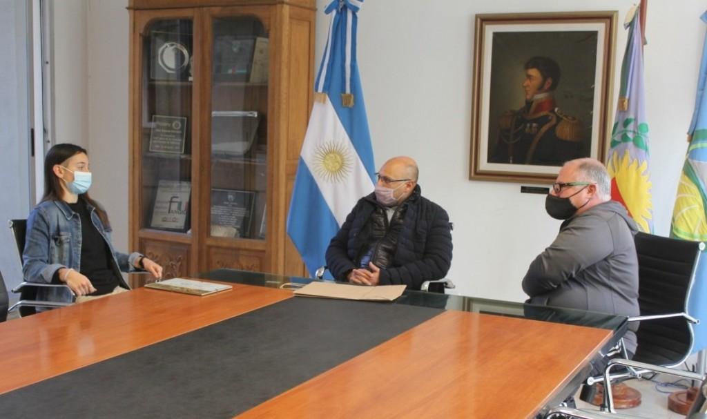 Balcarce: El Intendente saludó a futbolista que milita en Boca Juniors