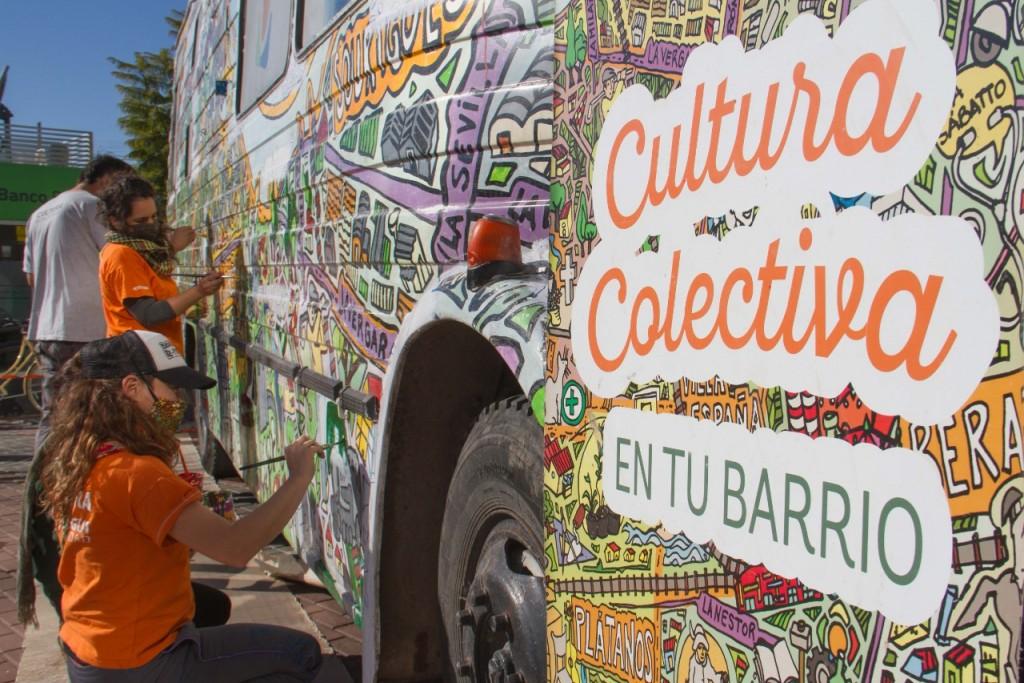 Berazategui: Se está interviniendo el Centro Cultural Móvil