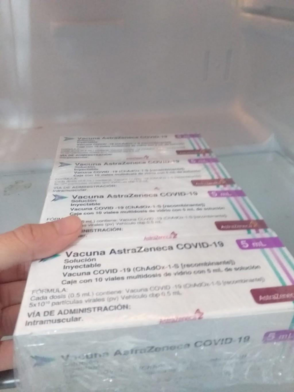 Tapalqué: Llegó una nueva partida de dosis de AstraZeneca