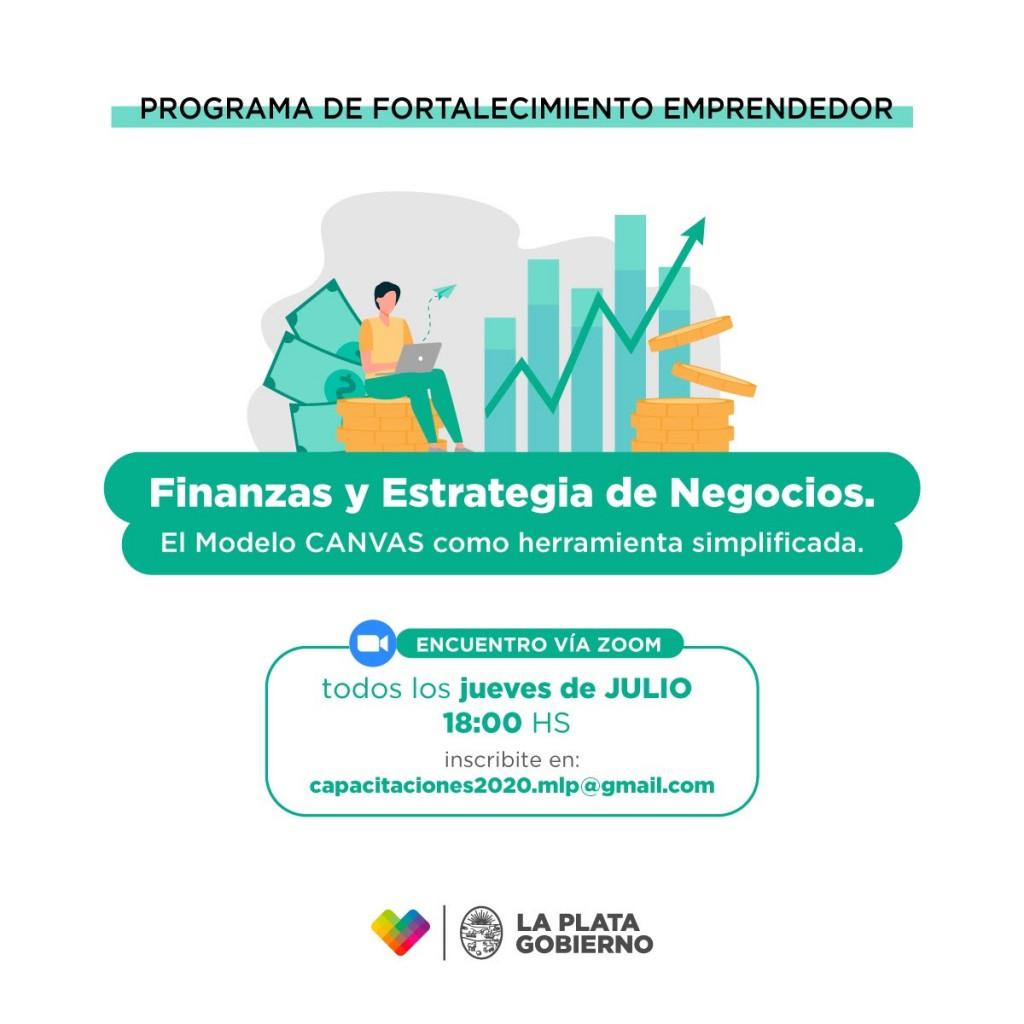 La Plata: Siguen las capacitaciones a emprendedores locales para fortalecer el manejo de sus PyMEs