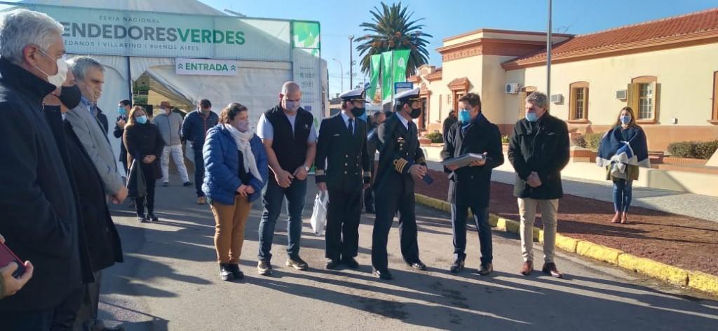 Patagones: El Intendente Zara participó del acto por el 135° aniversario del Partido de Villarino