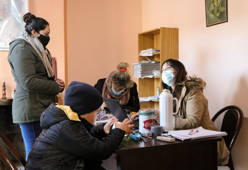 C. de Areco: Inscripción para lote de vivienda en Gouin
