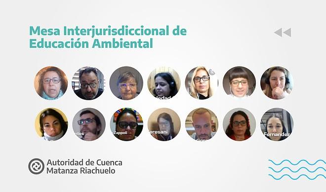 Avanza el trabajo de la Mesa Interjurisdiccional Educación Ambiental convocada por ACUMAR